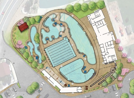 Ouray Pool rendering